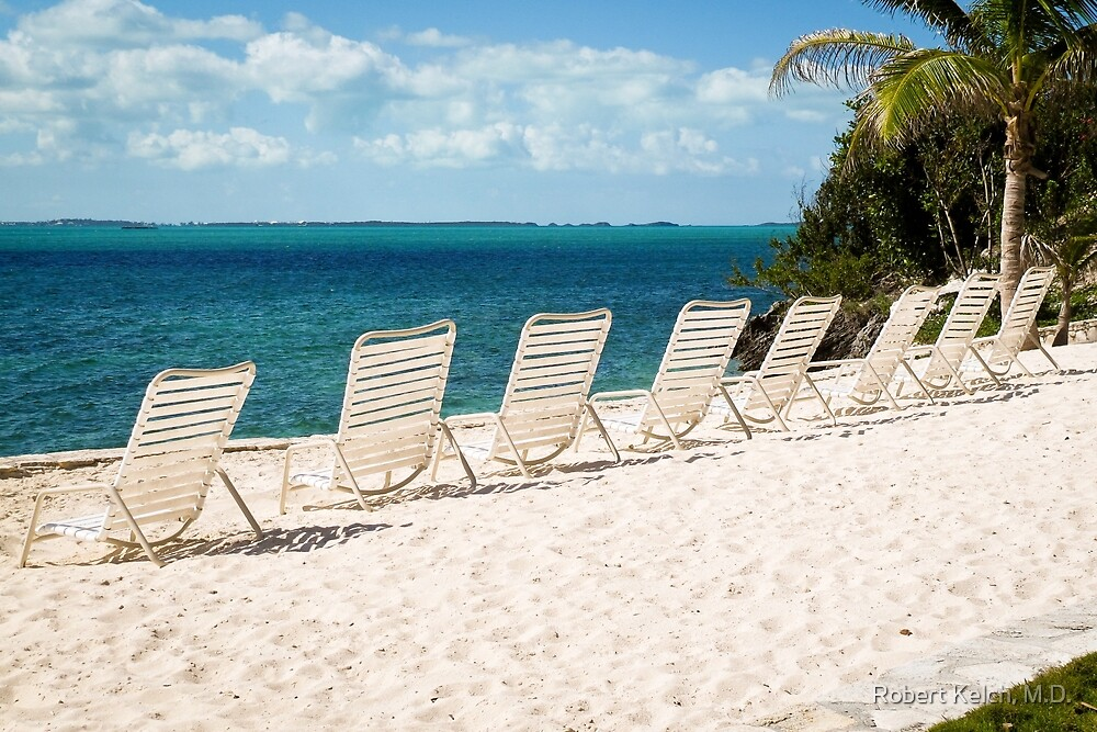 Inviting viewing spots on Elbow Cay, Bahamas by Robert Kelch, M.D.