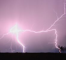 Lightning - Oberon NSW by Matthew Smith