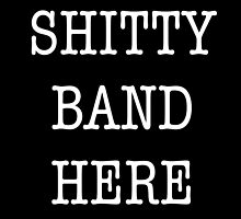 Generic Band Tee by ambermallow