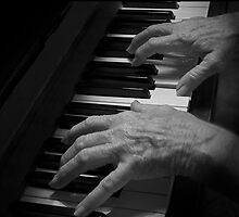 My Mum, the Pianist by GayeLaunder Photography
