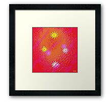 """ Love, if it holds in a single flower, is infinite. "" Framed Print"