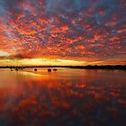 Sunset in Yamba, New South Wales by groophics