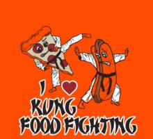 I Love Kung Food FIghting Kids Tee