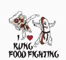 I Love Kung Food FIghting Kids Clothes