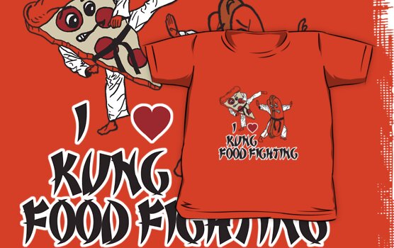 I Love Kung Food FIghting by Heather Daniels
