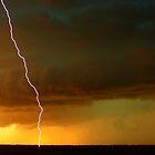 Sunset lightning by Matthew Smith
