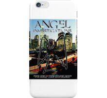 Angel Investigations iPhone Case/Skin