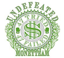 Undefeated Boxing Champ MoneyTeam 47-0 Photographic Print