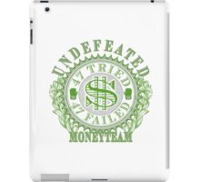 Undefeated Boxing Champ MoneyTeam 47-0 iPad Case/Skin