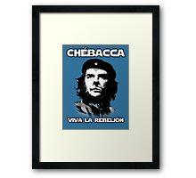 Chébacca Framed Print