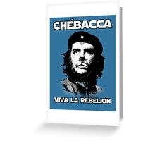 Chébacca Greeting Card