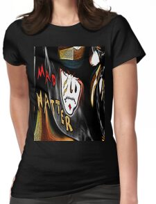 Mad Hatter Tee Womens Fitted T-Shirt