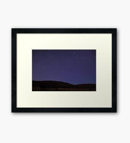 Sea Of Stars  Framed Print