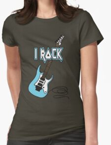 I ROCK Womens Fitted T-Shirt