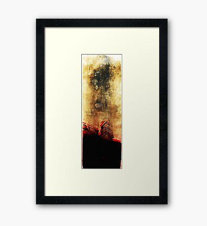 moody skys Framed Print