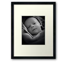 Peek a Boo - I see you... Framed Print