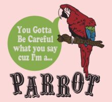 I'M A PARROT One Piece - Long Sleeve