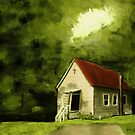 """Country Church 1""... prints and products by © Bob Hall"