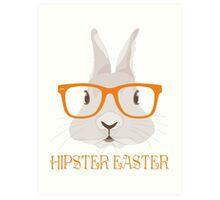 Hipster Easter Art Print