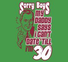 SORRY BOYS Baby Tee