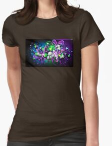 Abstract Butterfly Womens Fitted T-Shirt