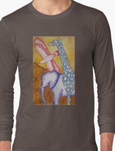 African 3 Long Sleeve T-Shirt