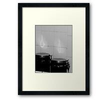 eternal flame.... Framed Print