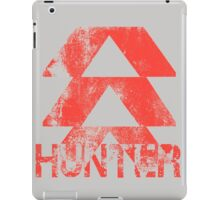 Destiny Hunter grunge iPad Case/Skin