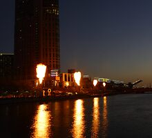 Fire On Crown by Henk Bender