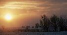 Sun Through the Snow Clouds by Leanna Lomanski