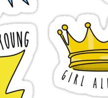 girl almighty sticker pack Sticker