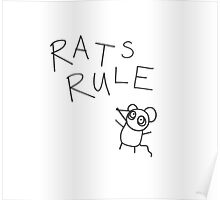 RATS RULE  Poster