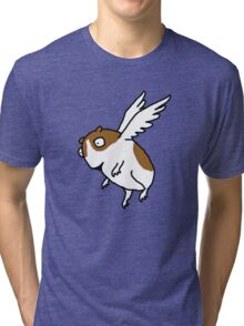 Flying Guinea Pig Tri-blend T-Shirt