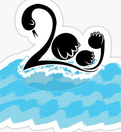 2009 - Making Waves Sticker