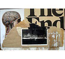 PRINCIPIO Y FIN (begin and end) Photographic Print