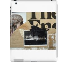 PRINCIPIO Y FIN (begin and end) iPad Case/Skin