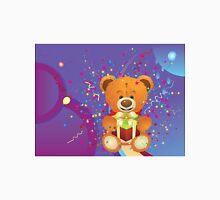 Teddy Bear with Gift Box 4 Unisex T-Shirt