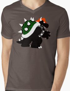 Nintendo Forever - Bowser King of the Koopas Mens V-Neck T-Shirt