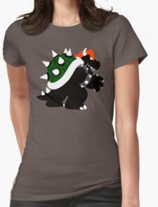 Nintendo Forever - Bowser King of the Koopas Womens Fitted T-Shirt