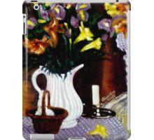 Get Well soon fresh flowers iPad Case/Skin
