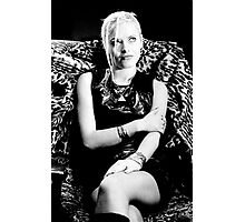 Nuala F dancer for a Punk Band  Photographic Print
