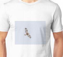 Rough-legged Hawk In Flight Unisex T-Shirt