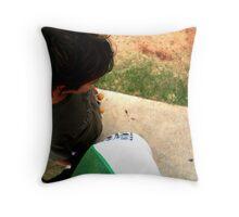 SK8 Heads - Colour Throw Pillow