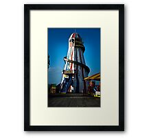 Travel - Brighton Pier Lighthouse Framed Print