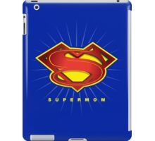 SUPERMOM iPad Case/Skin