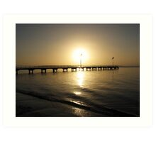 Early morning North Shields Art Print