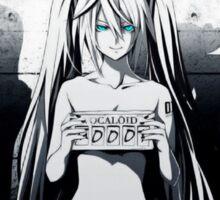 Vocaloid's under Arrest Sticker