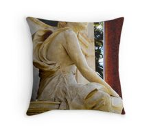 Sitting & Waiting Throw Pillow