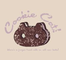 Cookie Cat Vintage Logo by lindseybro