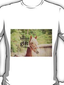 Horse God's gift T-Shirt